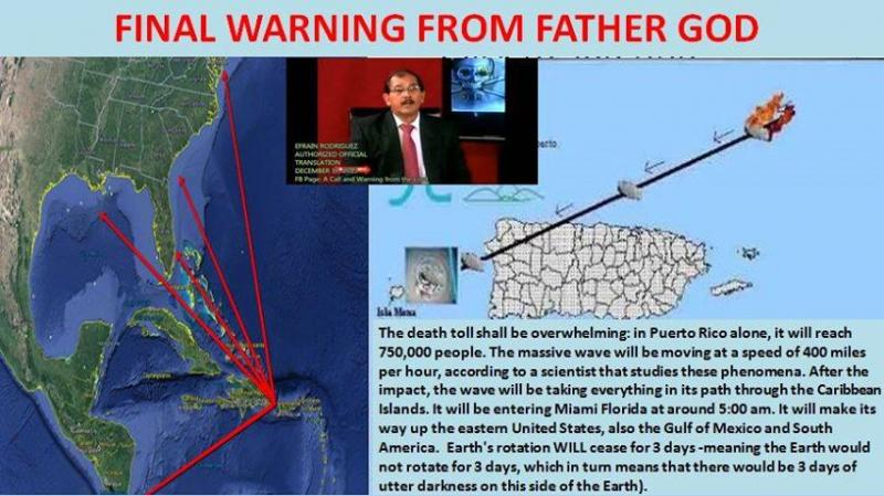 PROPHETIC WORD FOR PUERTO RICO AND THE CARIBBEAN ISLANDS